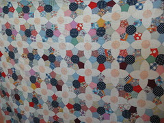 Kathleen: friend's quilt made from scraps of Midwest Clothing Co. (roaringforkquiltguild) Tags: july23