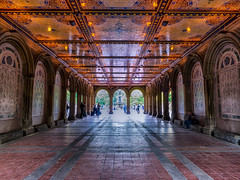 Bethesda Terrace (Jim Nix / Nomadic Pursuits) Tags: nyc newyorkcity travel newyork architecture photography centralpark manhattan hdr bethesdaterrace nomadicpursuits jimnix