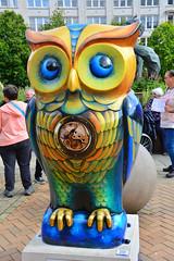 Birmingham, The Big Hoot Owl's, Tick-Tock (Martin Pettitt) Tags: city trip summer birmingham september citycentre owls ticktock owltrail nikondslr afsdxvrzoomnikkor18200mmf3556gifedii nikond7100 thebighoot