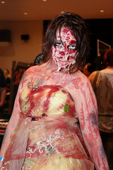 Bloody Horror Gore Girl Costume (shaire productions) Tags: cinema halloween girl face monster lady female dark death costume intense scary melting image artistic extreme creative picture eerie creepy event creation photograph convention gore horror sacramento macabre bloody creature sinistercreaturecon