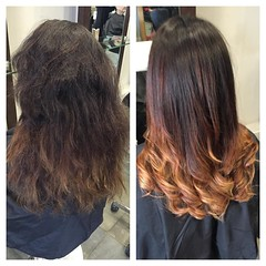 "#beforeandafter #autumhaircolor #smoothhair #wellahair @blush_haircardiff • <a style=""font-size:0.8em;"" href=""http://www.flickr.com/photos/119571362@N02/22770016092/"" target=""_blank"">View on Flickr</a>"