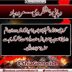#ShiaGenocide  :                    3  (ShiiteMedia) Tags: pakistan shiite           shianews   shiagenocide shiakilling  shiitemedia shiapakistan   mediashiitenews       3 shia