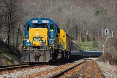 CSX Santa Train - NE Boody (chipallen16) Tags: santa train virginia natural kentucky dante tunnel trains santatrain csx coppercreek crr clinchfield poolpoint