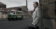 Mr Turqueti. (blaisearnold.net) Tags: portrait paris france bus factory smoke renault usine aspro tn4