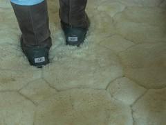 Covert Shot: Dirty Grey Uggs On Alpaca Rug (Uggling) Tags: feet alpaca fur boot boots australia dirty rug ugg uggs animalskin furrug 5815 furryrug animalskinrug skinrug alpacarug llamarug