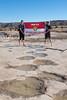 Brontosaurus Tracks (gstreech) Tags: colorado unitedstates dinosaur northamerica picketwirecanyon comanchegrassland troop870 brontosaurustrack