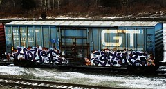 house - stoe (timetomakethepasta) Tags: house hot dogs train graffiti grand crew western trunk boxcar gt freight cdc gtw stoe