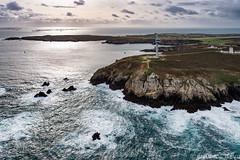 _4LN1872-La pointe du Stiff (Brestitude) Tags: sea mer lighthouse france brittany waves bretagne aerial breizh maison vagues falaise phare stiff finistère ouessant aérien iroise vigie ushant brestitude ©laurentnevo2015