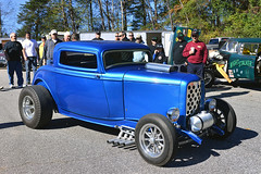 Blue Ford Coupe (Thumpr455) Tags: auto november blue ford car nikon automobile southcarolina finals hotrod coupe d800 greer 2015 zoomies worldcars afnikkor3570mmf28d greerdragway southeastgassers