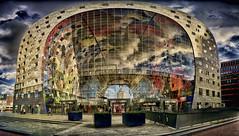 Markthal Rotterdam (wimvandemeerendonk, quite busy at the moment with ) Tags: netherlands architecture rotterdam sony nederland cities citiy vandaag markthal 7599faves diamondclassphotographer flickrdiamond wimvandem