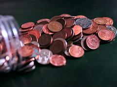 Shrapnel and Sliver (MySimplePhotosToday) Tags: money english silver coins copper change shrapnel queenshead