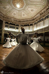 Dervishes / Sema Ceremony (©radicalme) Tags: travel history turkey istanbul sema tr mevlana galatamevlevihanesi