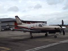 N616CM Socata TBM 700 (Aircaft @ Gloucestershire Airport By James) Tags: gloucestershire airport n616cm socata tbm 700 egbj james lloyds