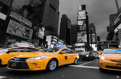 NYC Taxis on Times Square, Manhattan, New York, USA (Domi Art Photography) Tags: ny nyc newyork usa newyorkcity manhattan skyline brooklyn queens bridge brooklynbridge manhattanbridge eastriver hudson hudsonriver downtown midtown uptown eastside westside upperwestside uppereastside worldtradecenter wtc path empirestatebuilding chryslerbuilding building buildings chryslertower centralpark taxi yellowcab yellowcabs nyctaxi radiocityhall radiocitymusichall fifthavenue wallstreet brooklynbridgepark memorial911 911 etatsunis unitedstates america topoftherock rockfeller rockfellercenter statuedelalibert statueofliberty libertytower onewtc oneworldtradecenter street streetart nycstreetart people nypeople newyorkpeople newyorkstreet water river bridges queensborobridge bushwick