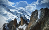 Mont-Blanc, before the Storm. (7Krys) Tags: alpinist storm