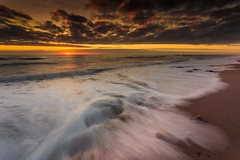 Cape Cod National Seashore (Dapixara) Tags: nationalpark longexposure wave ocean wellfleet landscape beaches beach capecodnationalseashore massachusetts usa
