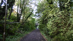Edinburgh - Leith old railway (Caledonian route) Trackbed near Trinity Court, Granton (dave_attrill) Tags: edinburgh haymarket leith caledonian railway disused trackbed granton carstairs lms cycle route path bridleway footpath remains trinity court cutting newhaven