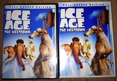 Double DVDs of Ice Age: The Meltdown (KassidyLinette) Tags: iceage