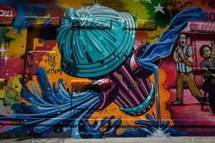 Tats Cru - Port Morris, The Bronx (john fullard) Tags: 2016 art august graffiti hydrant mural newyork nyc portmorris southbronx street streetart tatscru urban wall bronx