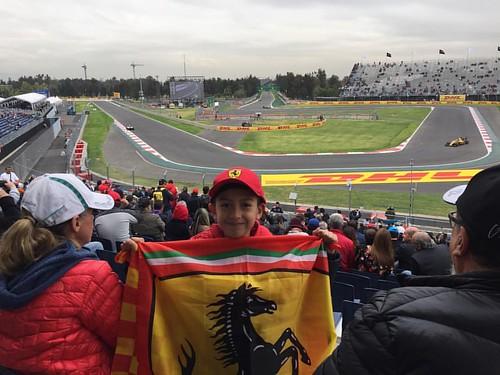 El fan número 1 #F1 #gpmexico