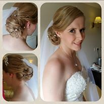 "Bride hair and make-up • <a style=""font-size:0.8em;"" href=""http://www.flickr.com/photos/36560483@N04/30114034146/"" target=""_blank"">View on Flickr</a>"