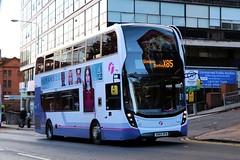 33981 SN65OFW First Glasgow (busmanscotland) Tags: 33981 sn65ofw first glasgow sn65 ofw ad adl alexander dennis e40d enviro 400 mmc
