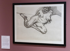 'Flesh', York City Art Gallery (alh1) Tags: yorkcityartgallery england flesh northyorkshire york exhibition nude drawing etching lucienfreud