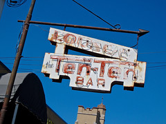 Ten-Ten Bar, Schenectady, NY (Robby Virus) Tags: schenectady newyork ny upstate state tenten 1010 dive bar lounge tavern pub neon sign signage booze alcohol