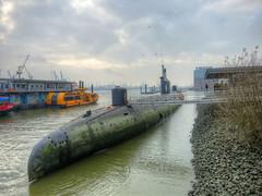 U-434 Hamburg (zimmermannj6673) Tags: hdr hamburg harbor