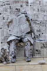 Paperman Malaga (Kfnormann) Tags: newspaper paperman malaga spain callemarquésdelarios