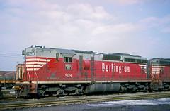 CB&Q SD24 509 (Chuck Zeiler) Tags: cbq sd24 509 burlington railroad emd locomotive clyde chz