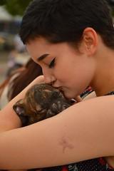 Puppy love (radargeek) Tags: plazadistrict plazafest 2016 kiss puppy dog