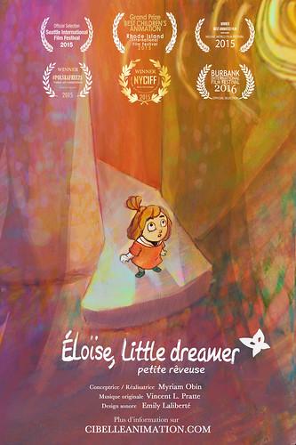 Eloïse, Little Dreamer OWTFF 2016 Best Animation Nominees