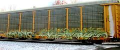 salem - versuz '06 (timetomakethepasta) Tags: salem versuz kog freight train graffiti art autorack