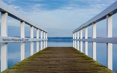 bis zum Horizont - Explore # 34 (rafischatz... www.rafischatz-photography.de) Tags: germany lowersaxony lake badzwischenahn zwischenahnermeer autumn november pier horizon pentax k3