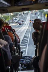 On The Road (Preston Ashton) Tags: road bus people passenger traffic drive prestonashton travel sunny sunshine trip journey