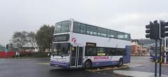 Service 224 (Woolfie Hills) Tags: first cymru w807 eow volvo alexander decker 224 mumbles port talbot