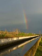 Arc de sant mart (cincde82012) Tags: rainbow arc sant marti cel sky catalonia montsia ebre ebro delta poblenou