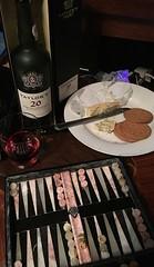 Stilton port and backgammon (allanpar) Tags: vintageport backgammon port stilton stiltonport