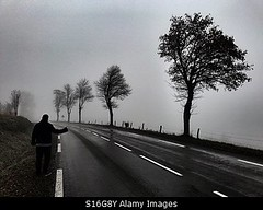 Photo accepted by Stockimo (vanya.bovajo) Tags: stockimo iphonegraphy iphone hitching man road alone nobody dark auto stop hitchhiker hitchhiking route bad adventure mist fog foggy weather cold lonely loneliness lost unhappy disappointed grizzly autumn