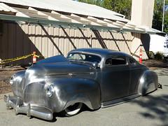 1940 Dodge (bballchico) Tags: 1940 dodge custom chopped mengestwinsspeedshop billetproof billetproofantioch carshow 1940s coupe