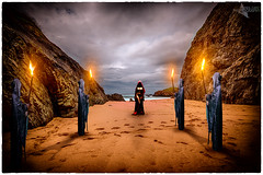 Scarlet Woman (Mr Bultitude) Tags: scarlet woman whore babylon mystic occult magick cave entrance naked rite
