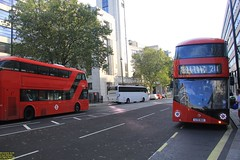 """2015 Wrightbus NBFL """"Borismaster"""" #LT614 & 2016 Wrightbus NBFL """"Borismaster"""" #LT691 (busdude) Tags: wrightbus newbusforlondon borismaster new routemaster tfl transport for london abellio holding bv ns nederlandse spoorwegen"""