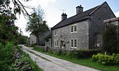Alstonefield (Blue Sky Pix) Tags: limestone cottages alstonefield village peak district national park derbyshire england pentax dry stone wall