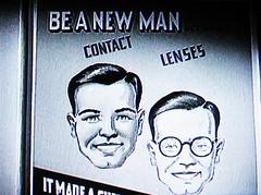 Be a new man! 1247 (Tangled Bank) Tags: screenshot screen shot movie film cimena noir detective crime suspense tension richard ad advert advertisement sign signage