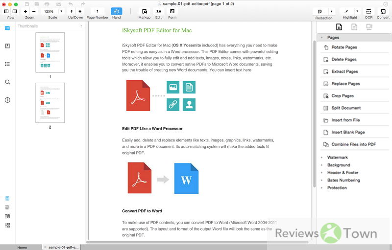 The Best Batch PDF Watermark Remover for Mac