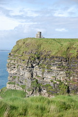 Cliffs of Moher - OBriens Tower (ManuWolf) Tags: cliffsofmoher aillteanmhothair coclare ireland