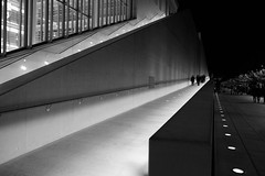 Throwback at simplicity (Kostas Katsouris) Tags: people fuji xt10 fujifilm street urban lines bw black white photography athens greece light sky blackandwhite monochrome night architecture arrows geometry