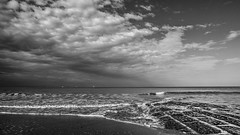 mer 2711 (Yasmine Hens) Tags: mer zee sea blankenberge hensyasmine belgium blgica belgia belgique aaa belgi monochrome