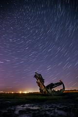 Startrail (joeadamson2) Tags: outdoors astrophotography astro star stars startrail longexposure sky nature night boat lancashire